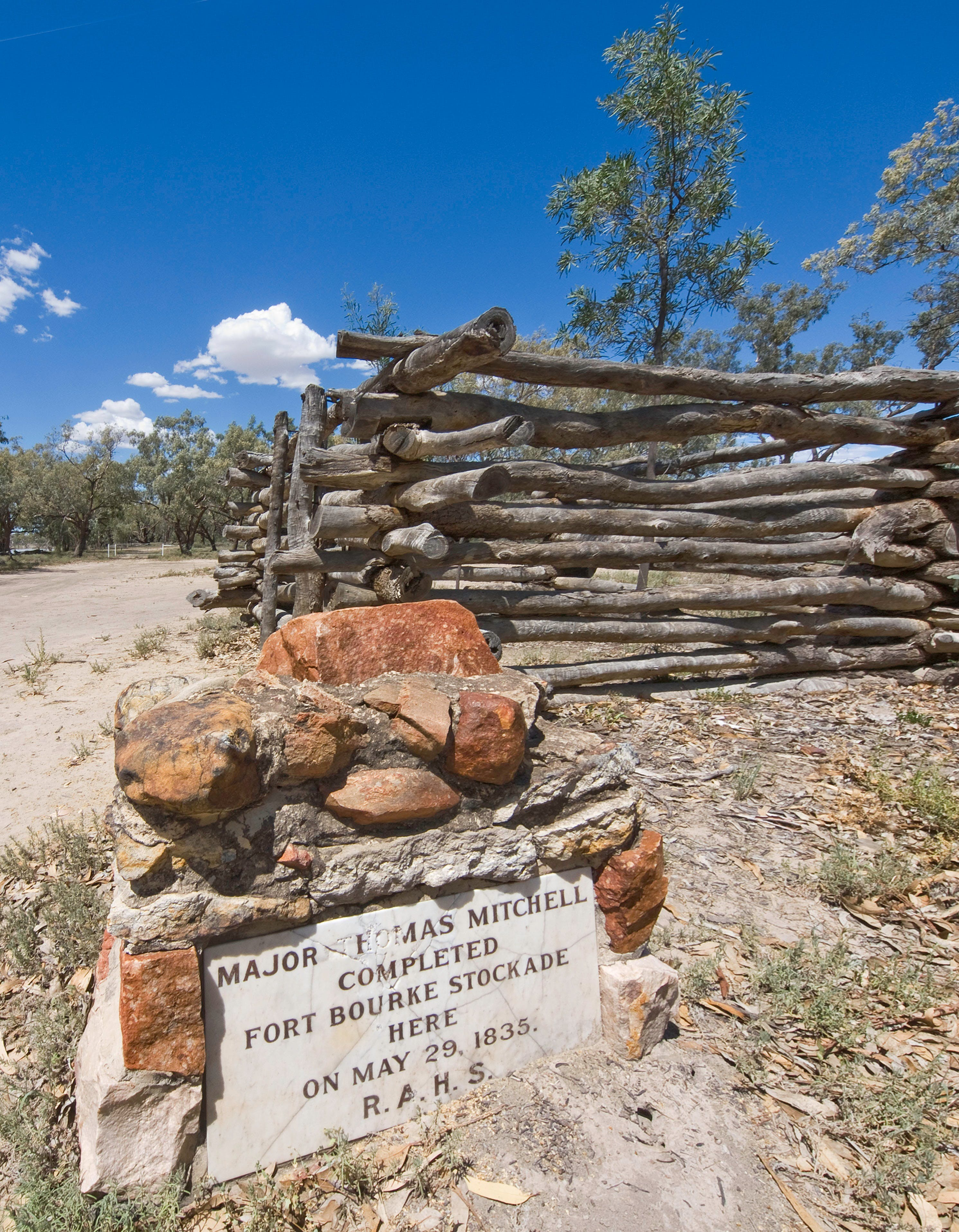 Fort Bourke Stockade - Accommodation Rockhampton