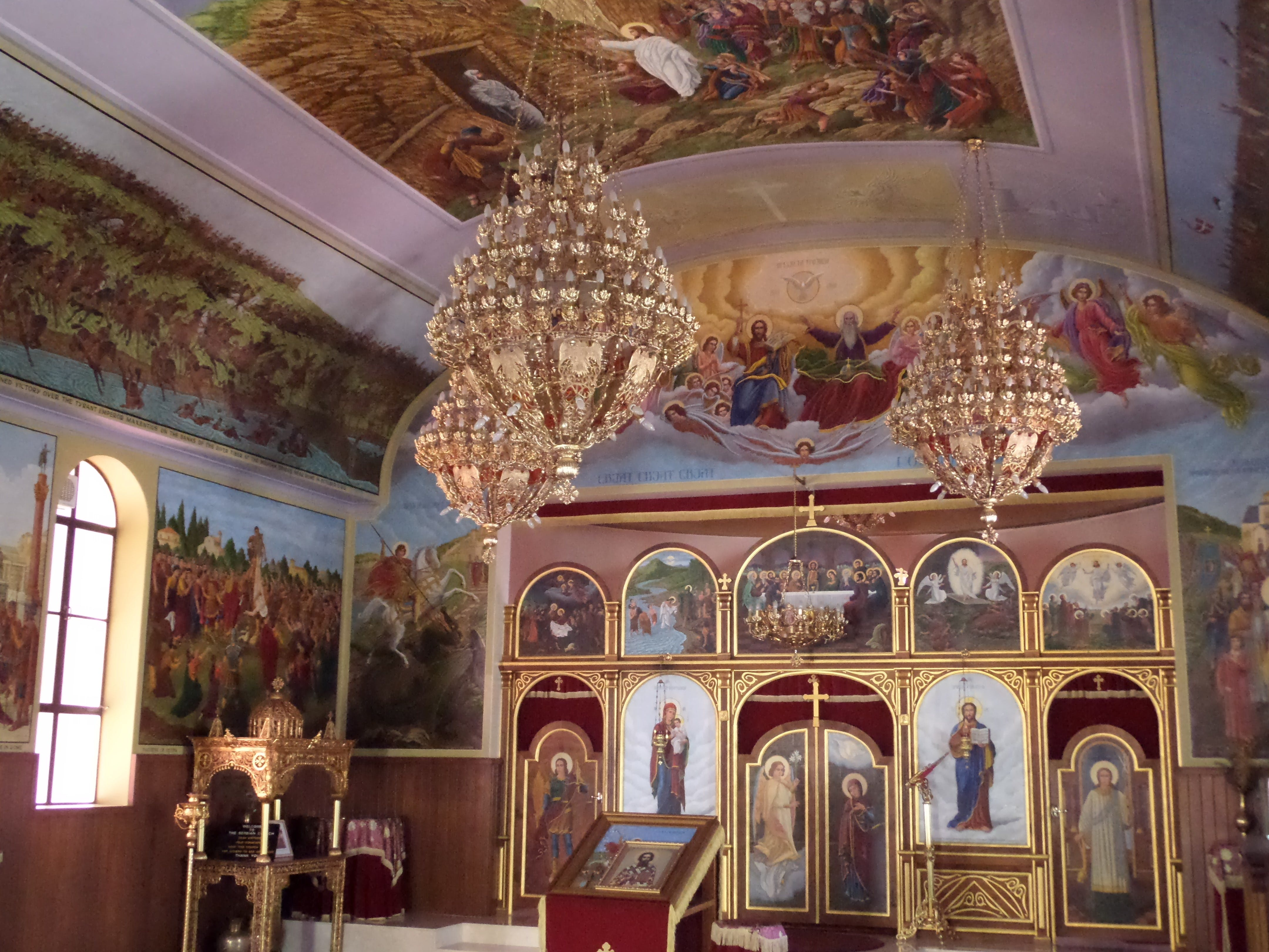 Free Serbian Orthodox Church St George - Accommodation Rockhampton