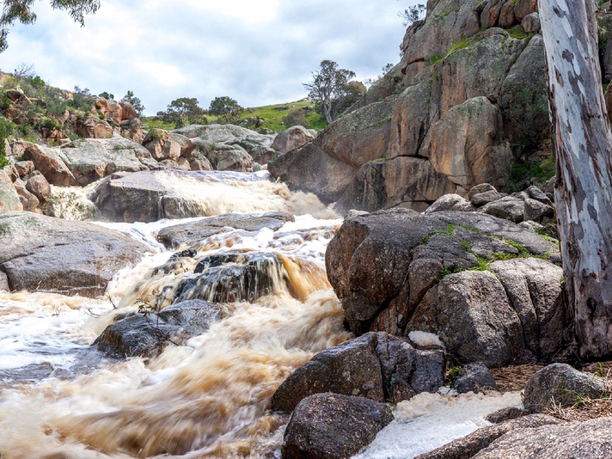 Mannum Waterfalls - Accommodation Rockhampton