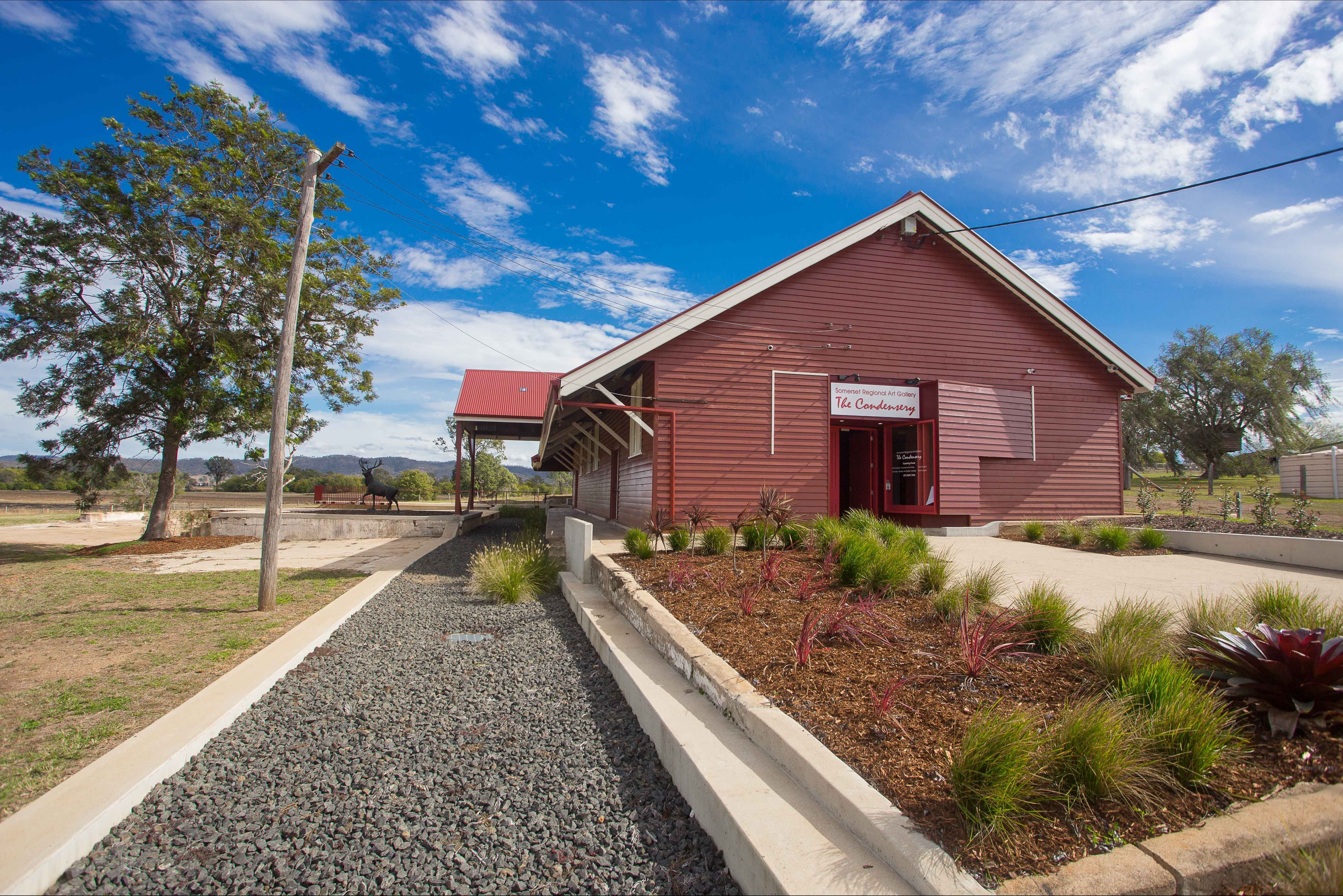 The Somerset Regional Art Gallery - The Condensery - Accommodation Rockhampton