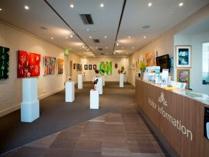 Australian National Botanic Gardens Visitor Centre Gallery - Accommodation Rockhampton
