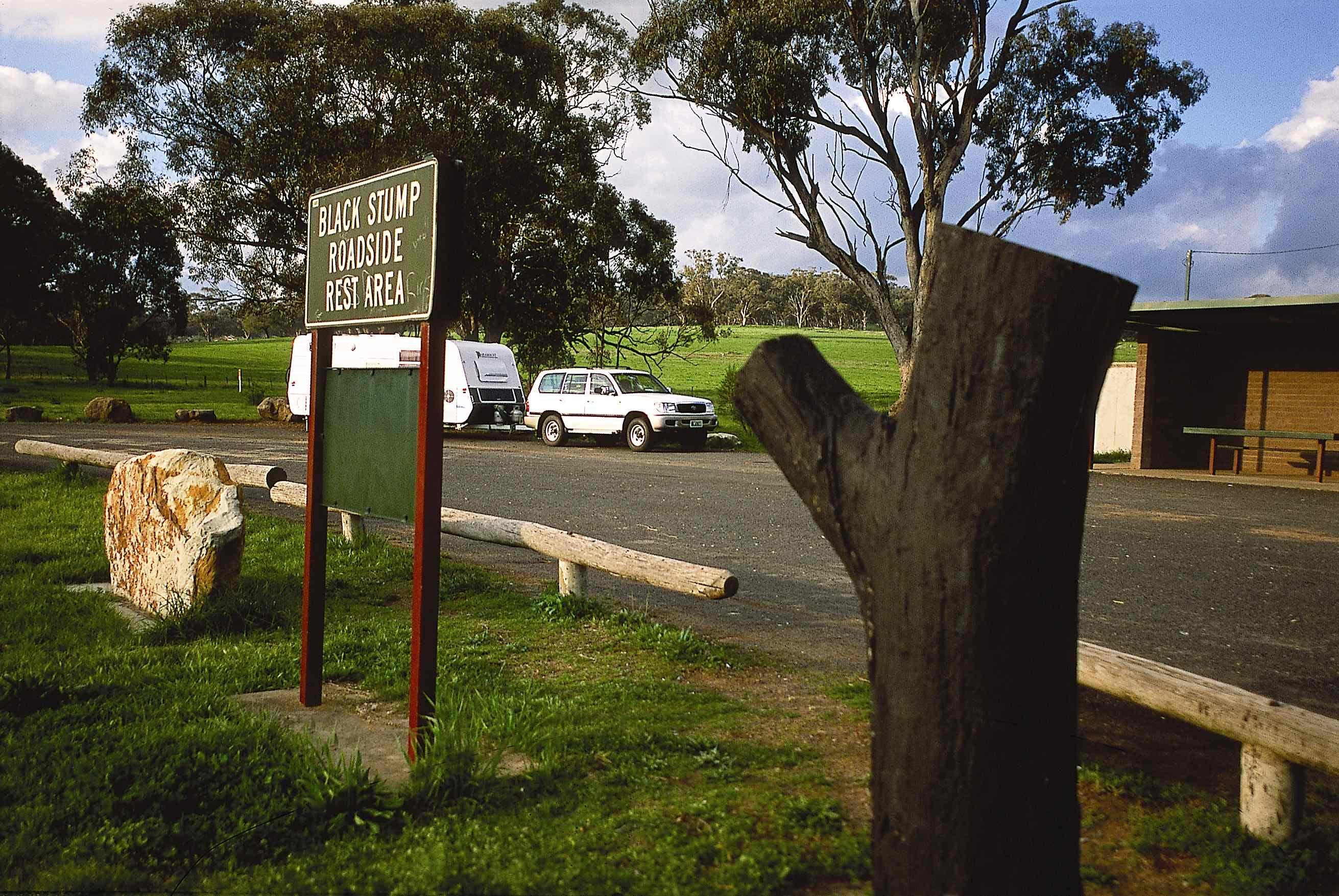 Black Stump Rest Area - Accommodation Rockhampton
