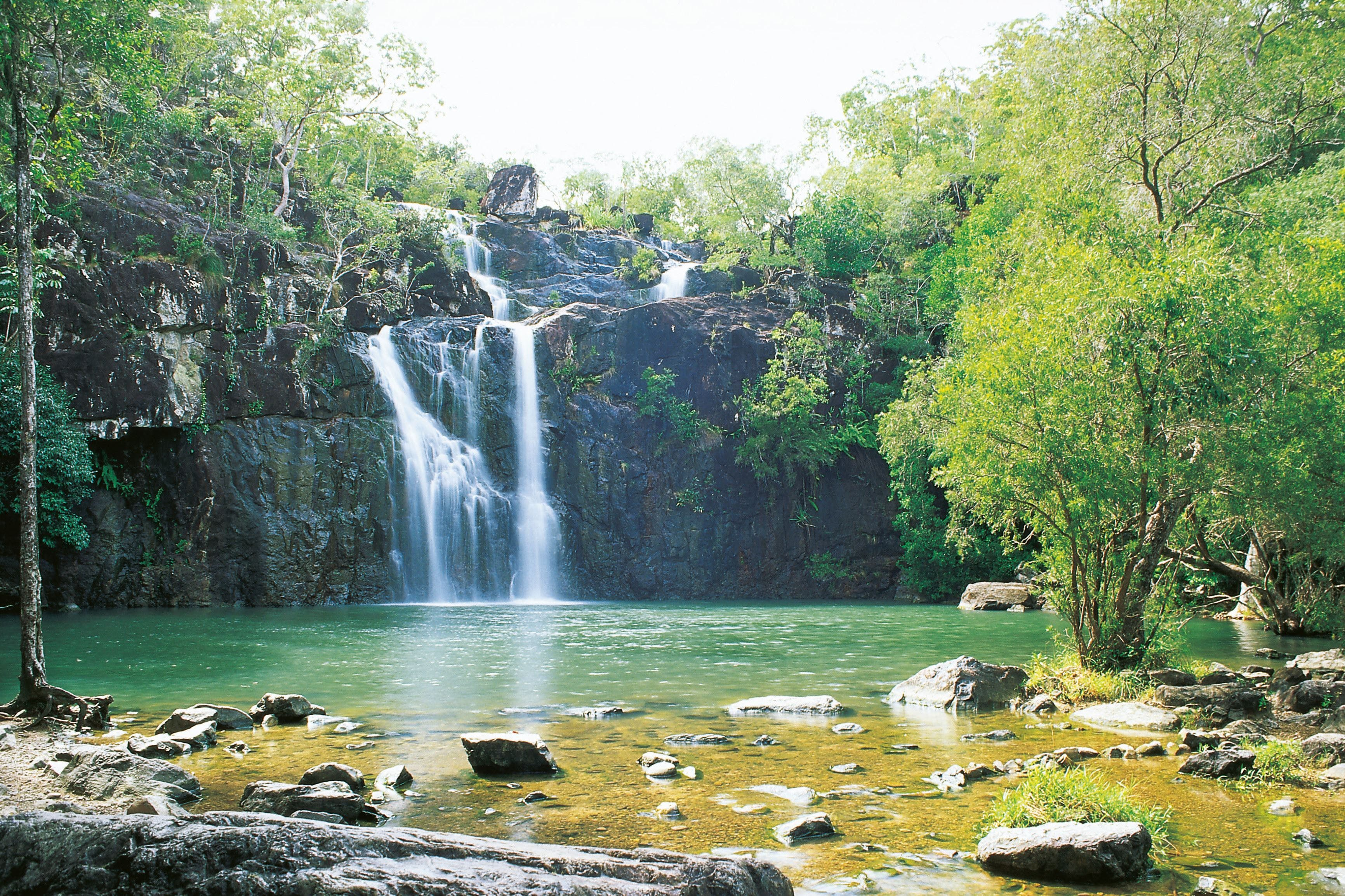 Cedar Creek Falls - Accommodation Rockhampton