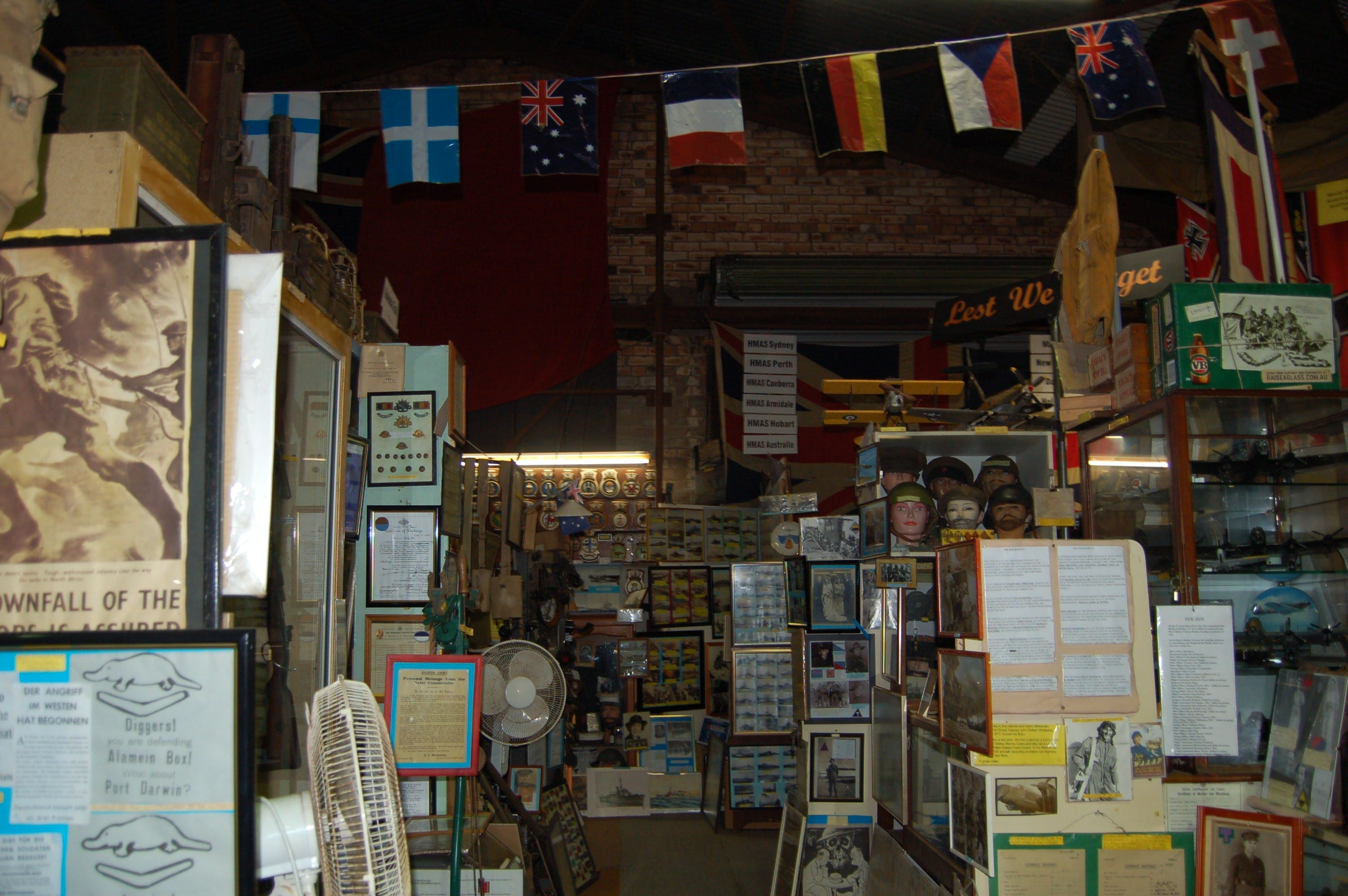 Military and Memorabilia Museum - Accommodation Rockhampton