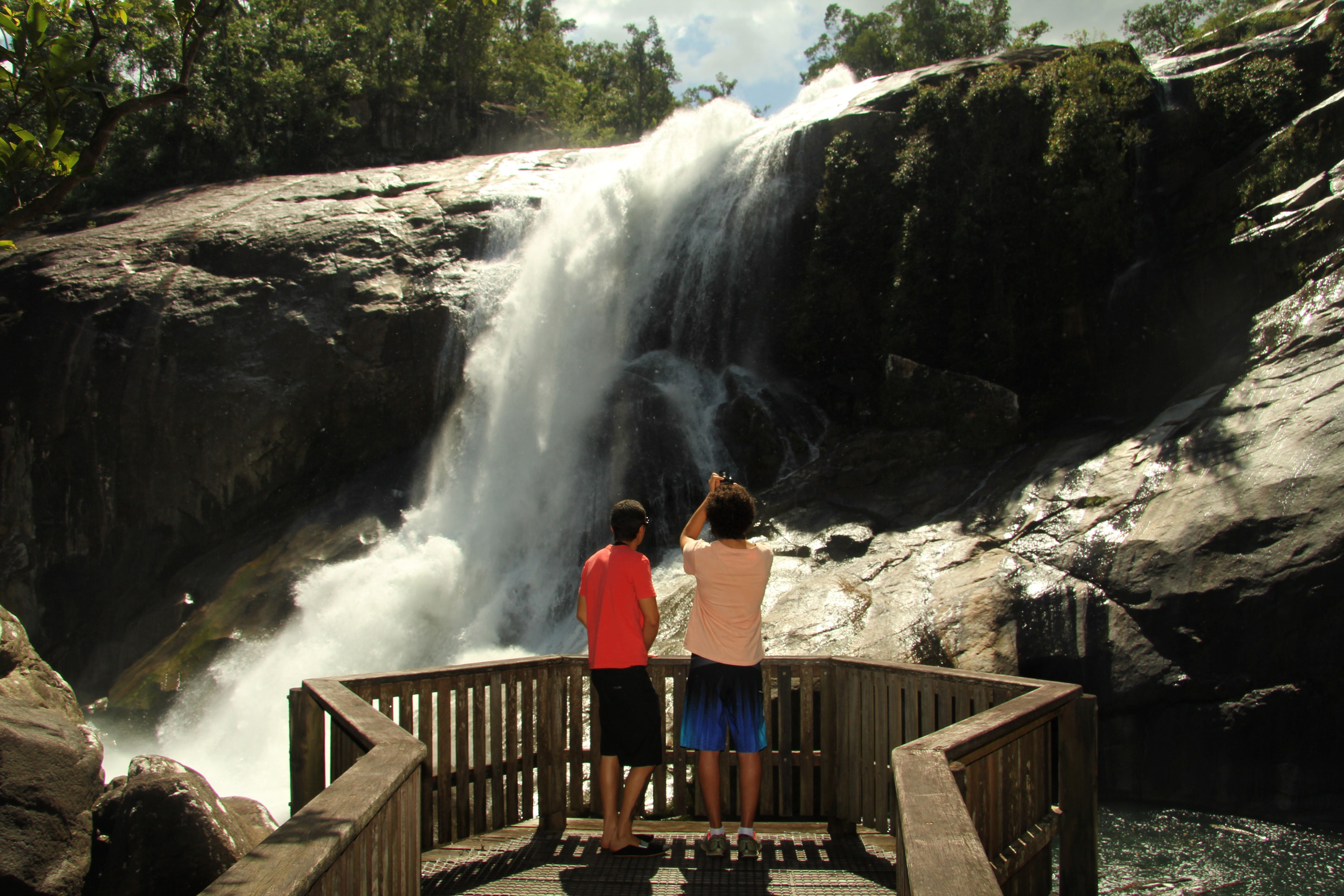 Murray Falls Girramay National Park - Accommodation Rockhampton