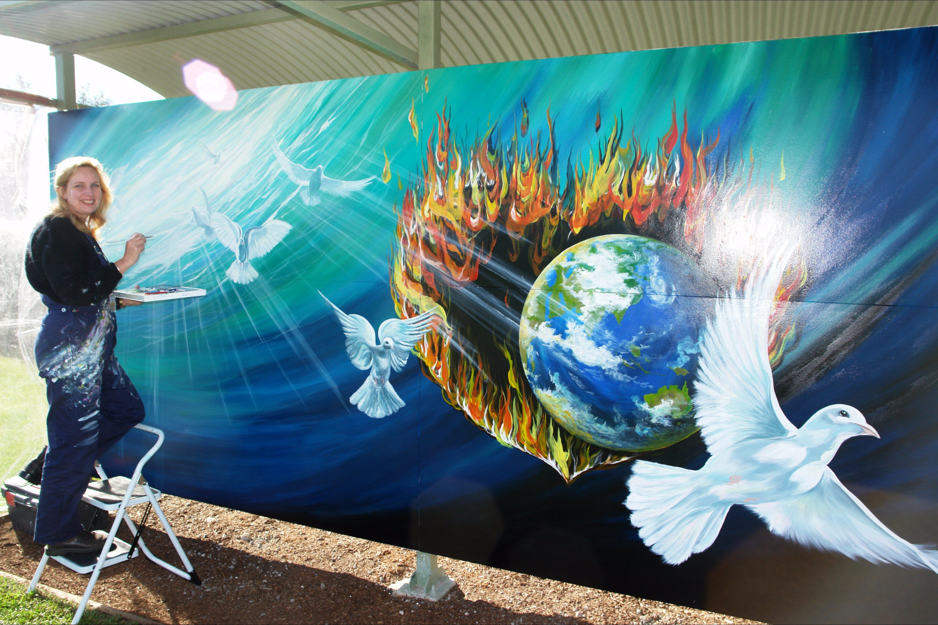 Mural Park - Accommodation Rockhampton