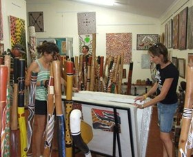 Top Didj and Art Gallery - Accommodation Rockhampton