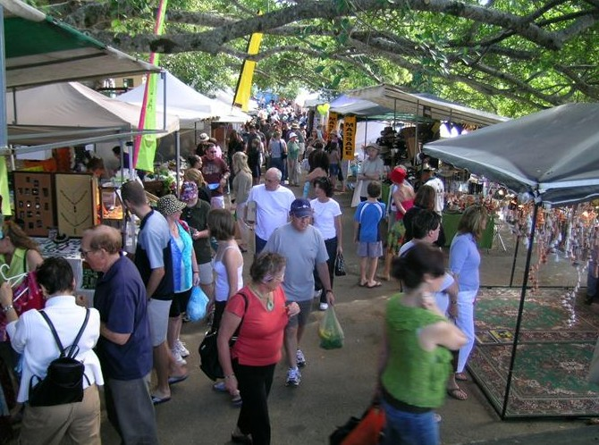 Eumundi Markets - Accommodation Rockhampton