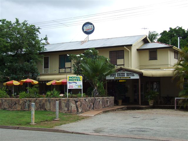 Pine Creek Hotel/Motel - Accommodation Rockhampton