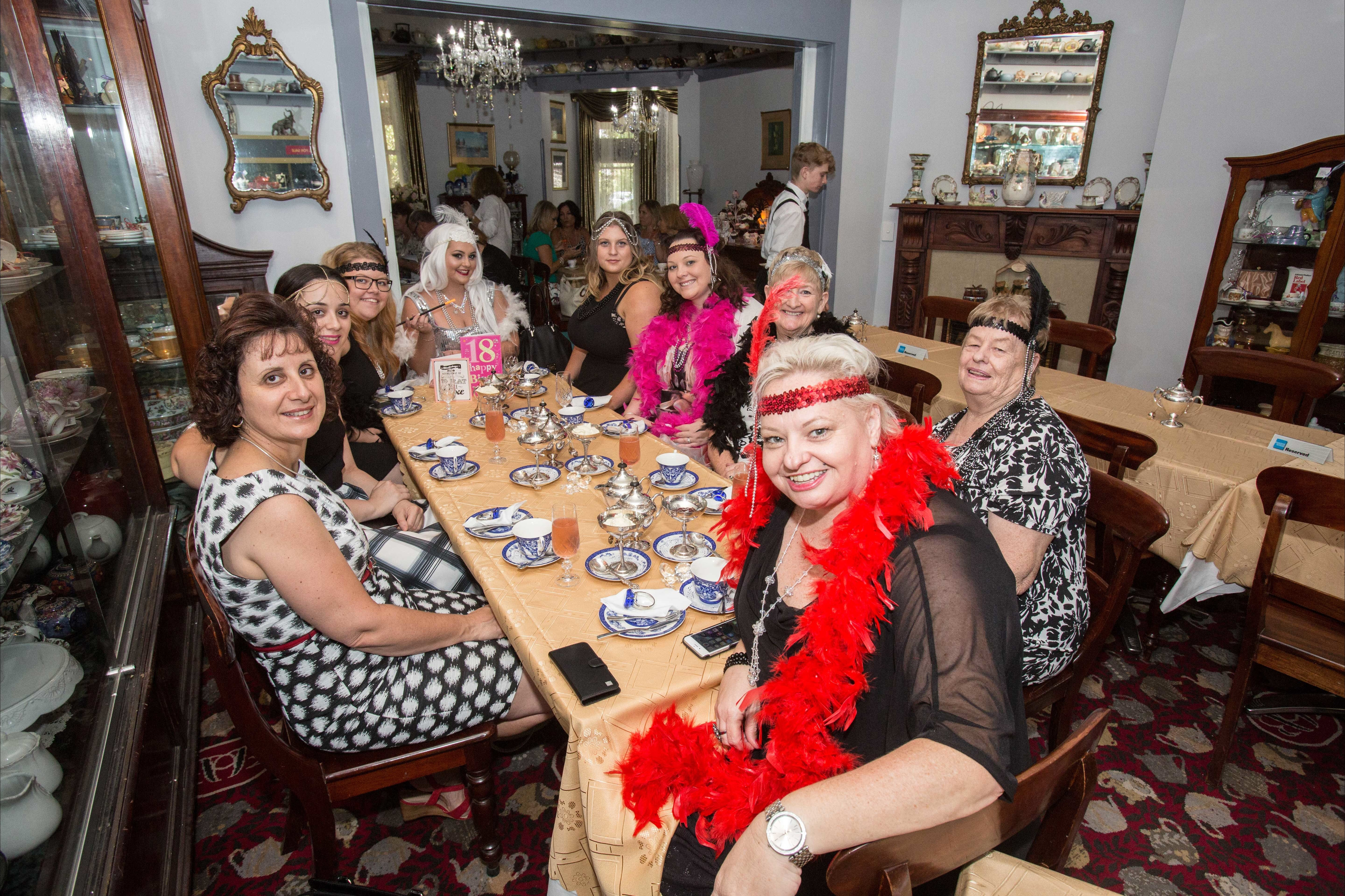 Bygone Beauty's Traditional High Tea Supreme for Good Food Month. - Accommodation Rockhampton