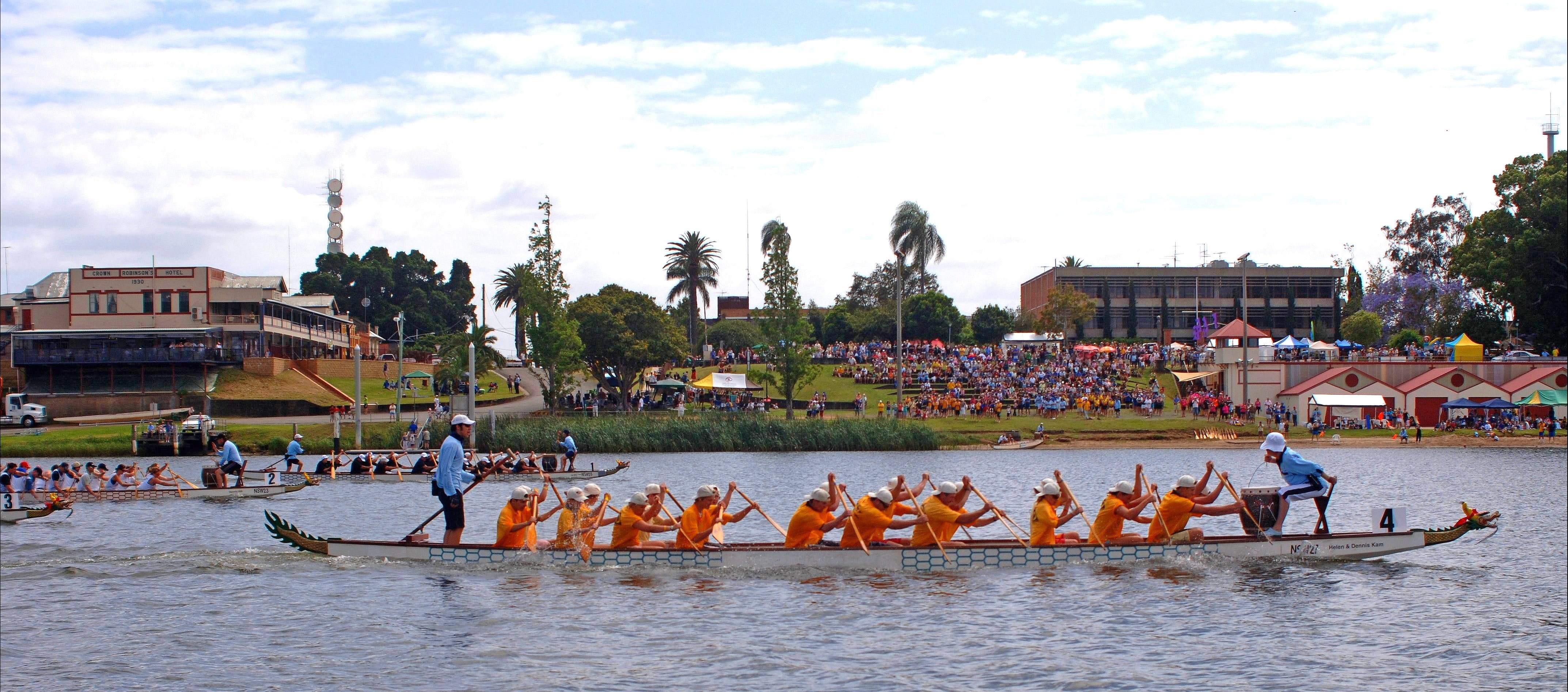 Jacaranda Dragon Boat Races - Accommodation Rockhampton