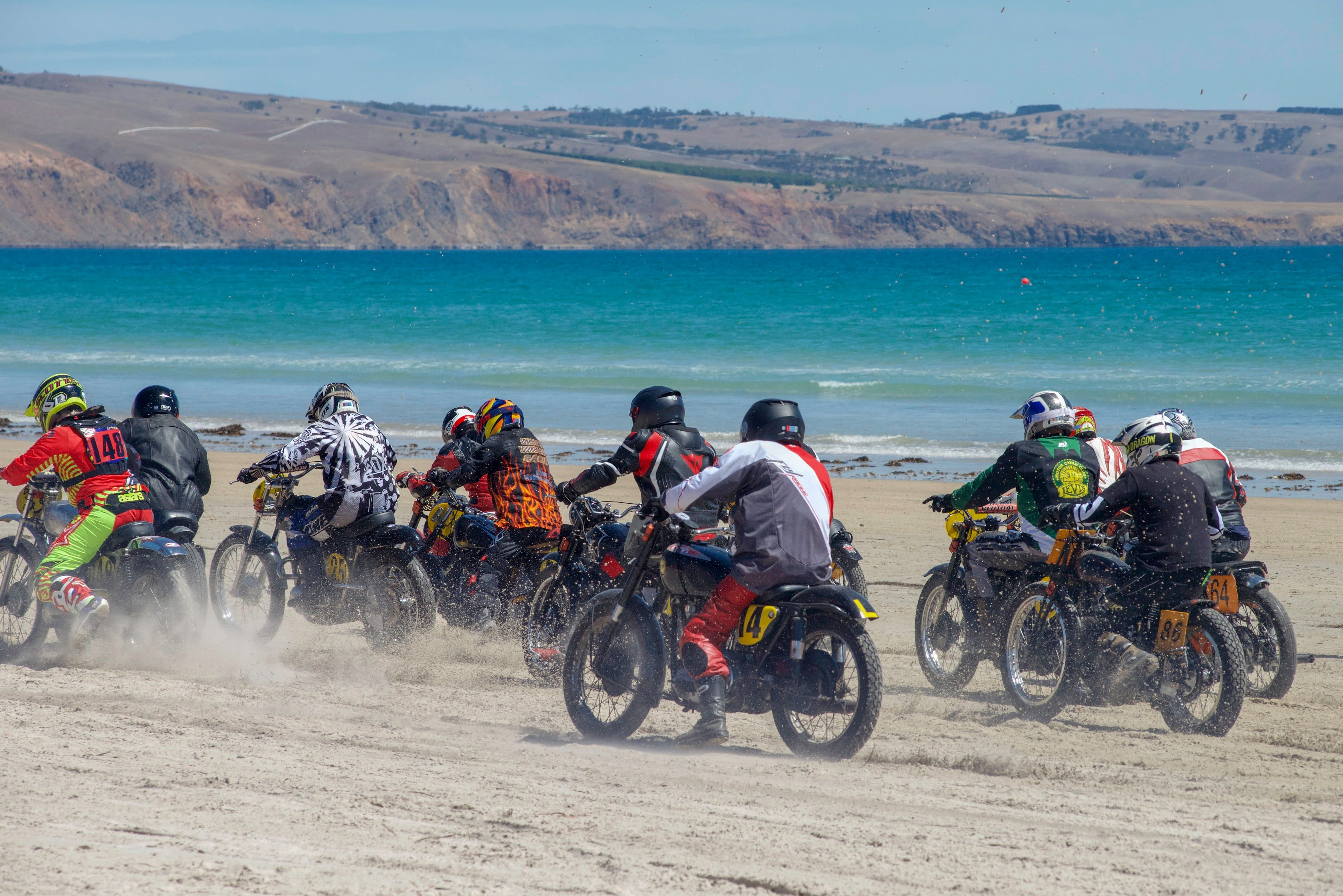 Sellicks Beach Historic Motorcycle Races - Accommodation Rockhampton