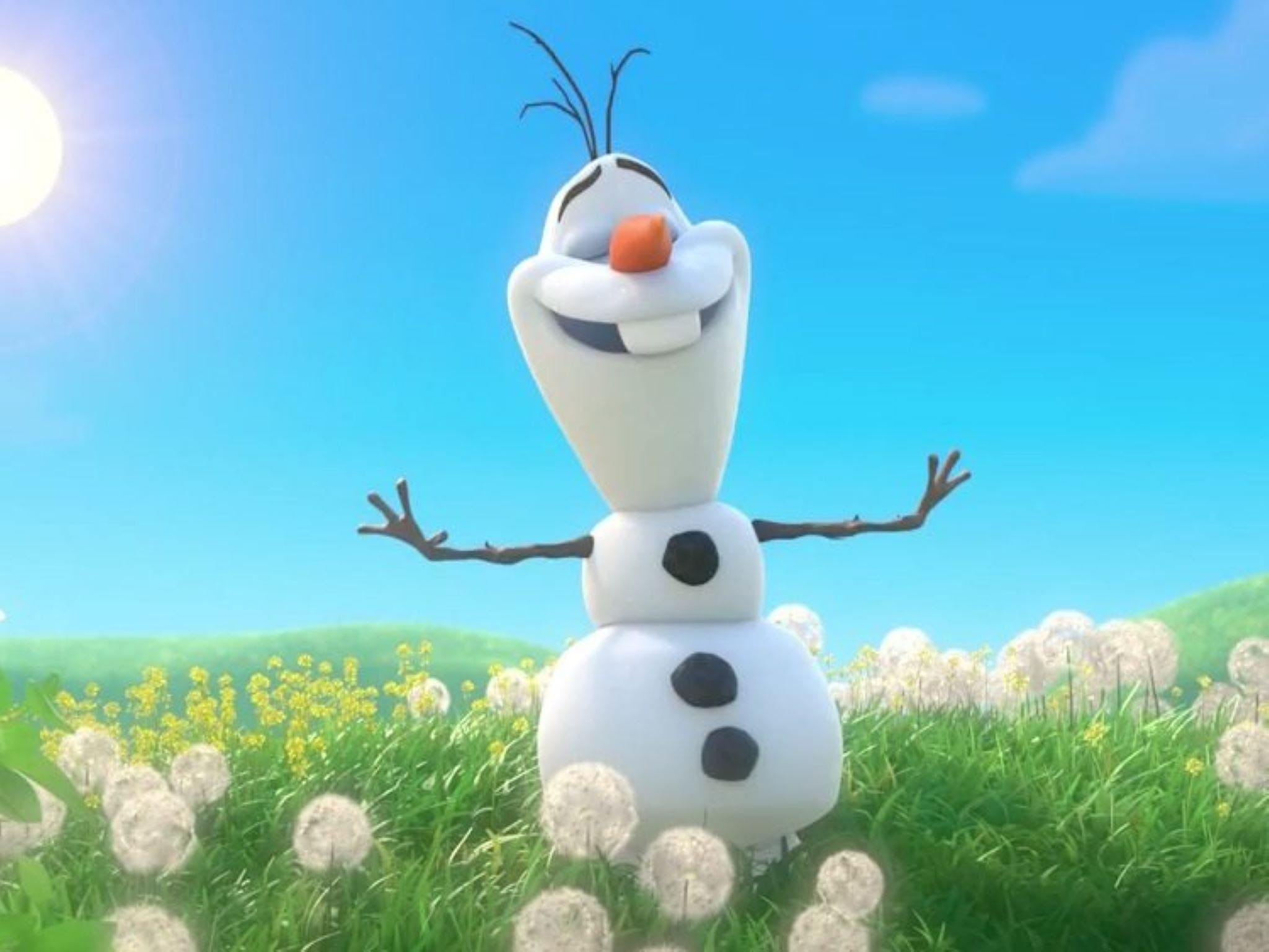 Meet Olaf from Frozen - Accommodation Rockhampton