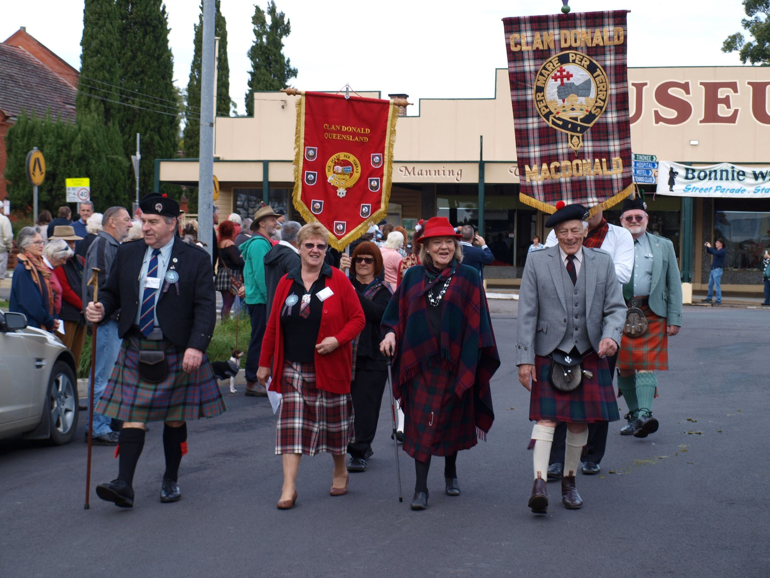 Bonnie Wingham Scottish Festival - Accommodation Rockhampton
