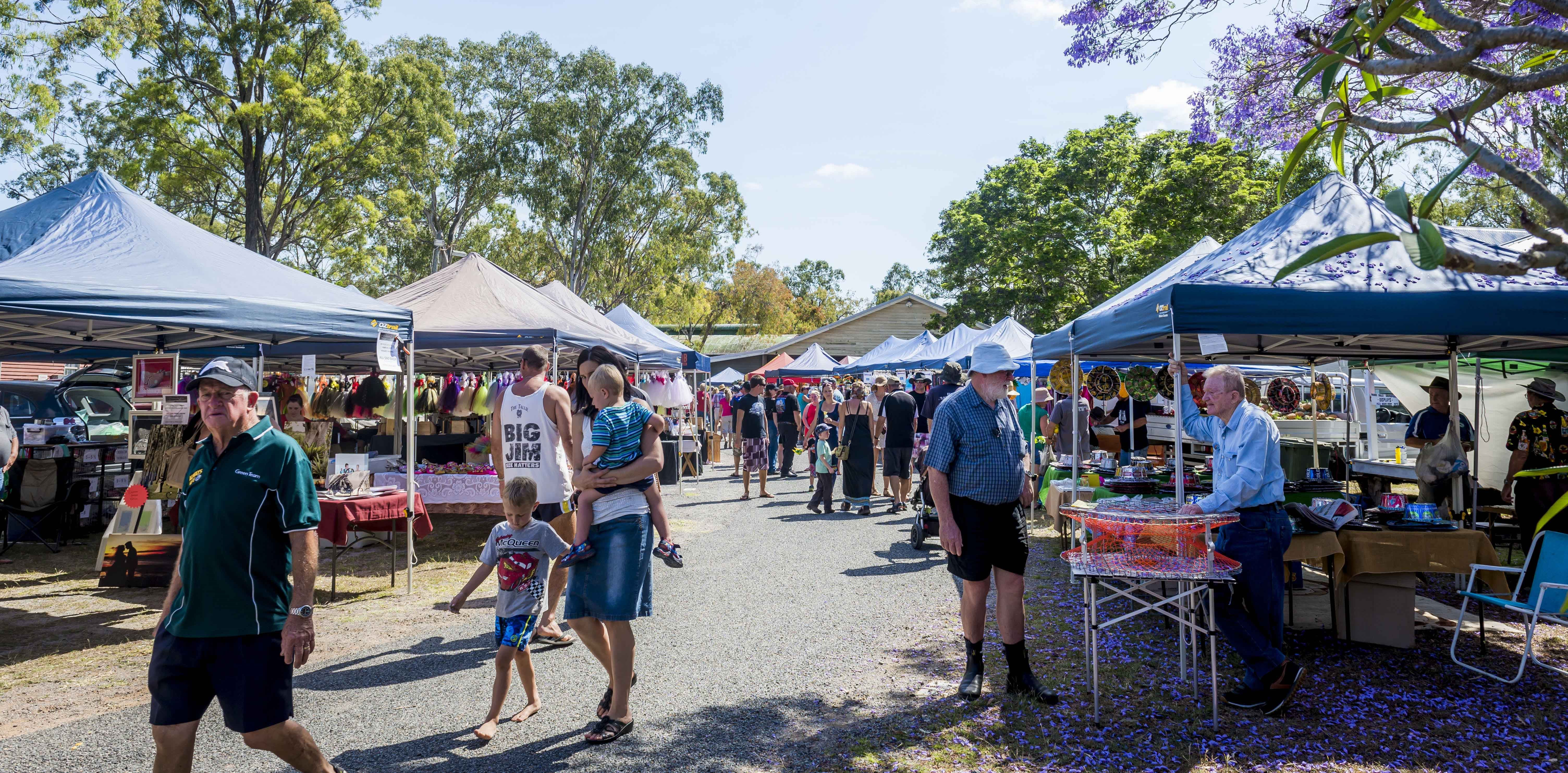 Calliope Historical Village Markets - Accommodation Rockhampton