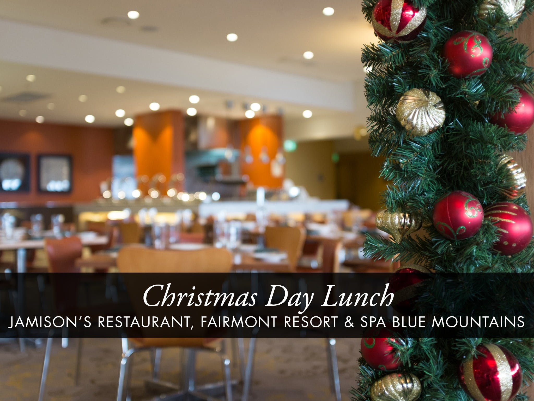 Christmas Day Buffet Lunch at Jamison's Restaurant - Accommodation Rockhampton