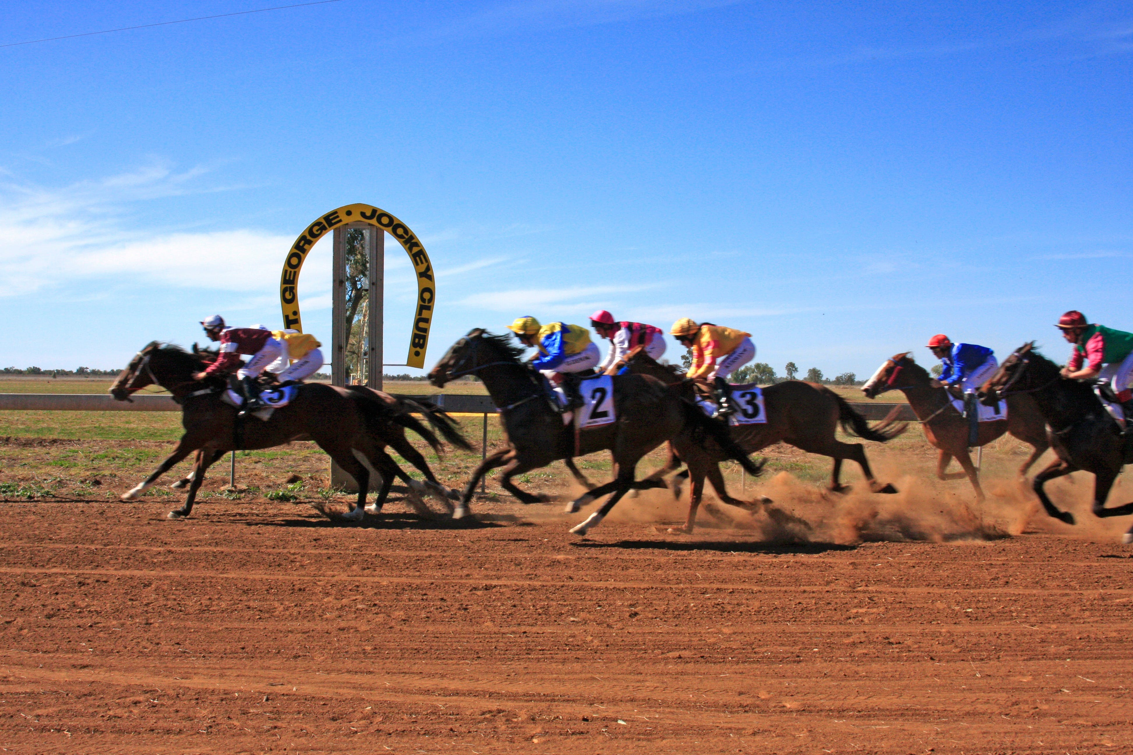 St George Cup Race - Accommodation Rockhampton