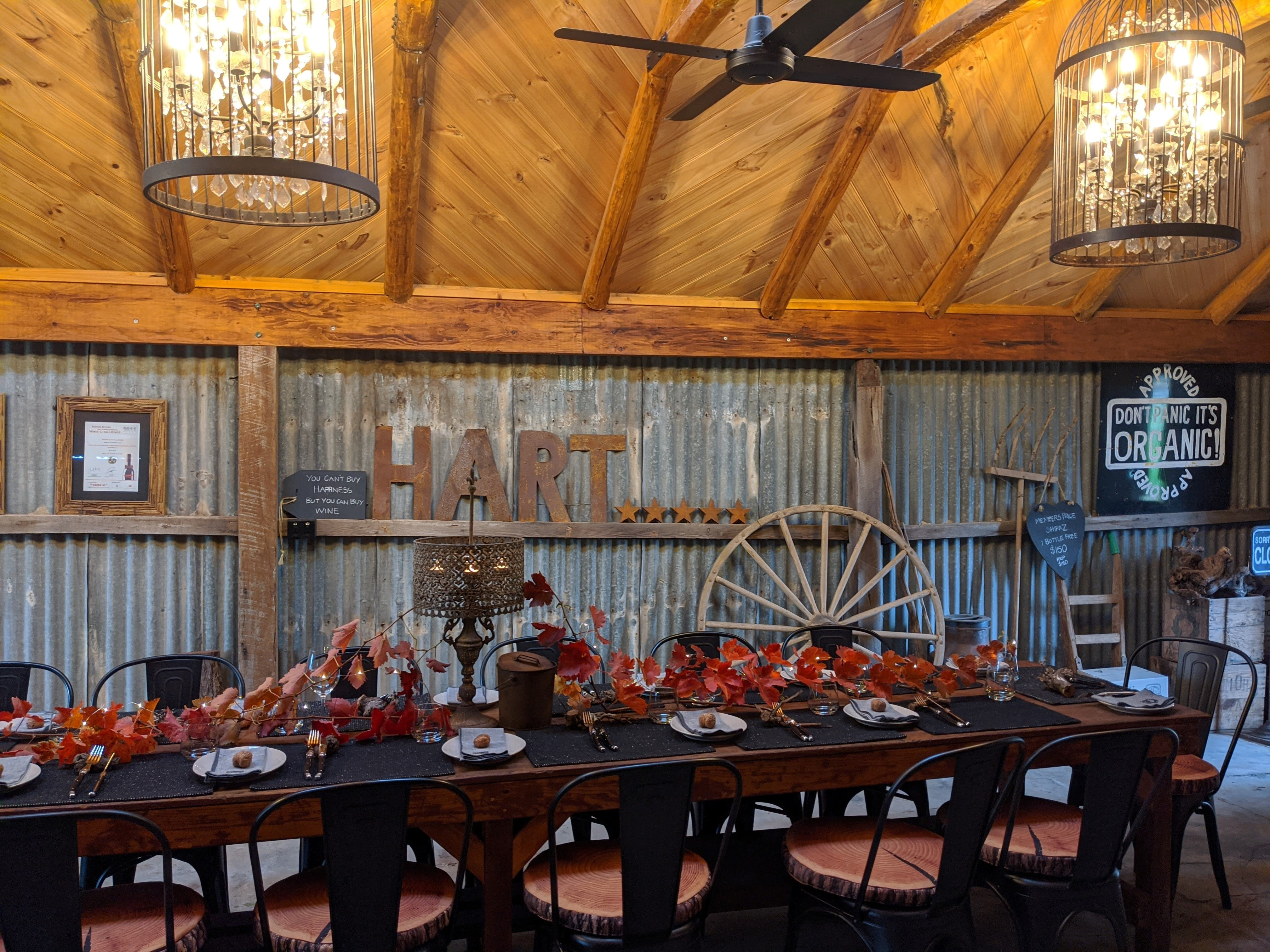 Friday Long Lunch   Hart of the Barossa Tasting Shed - Accommodation Rockhampton
