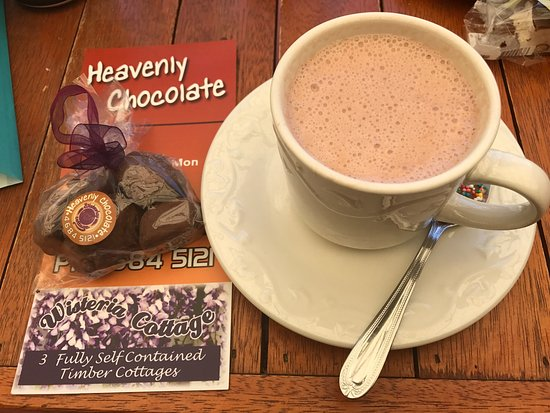 Stanthorpe's Heavenly Chocolate at Wisteria Cottage - Accommodation Rockhampton