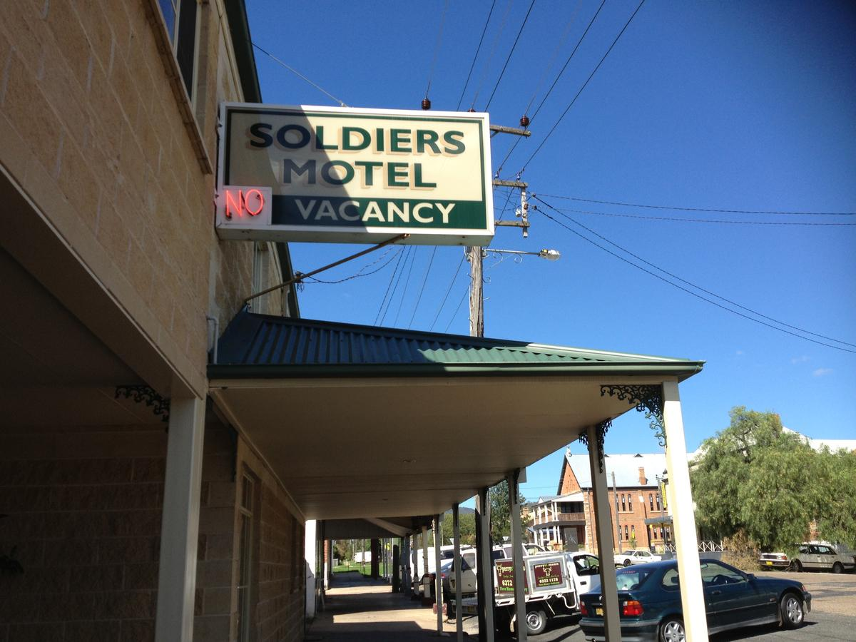 Soldiers Motel - Accommodation Rockhampton