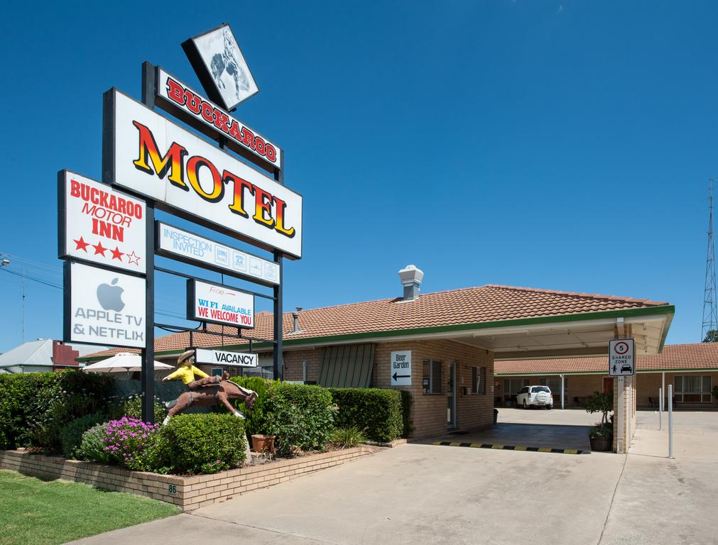 Buckaroo Motor Inn - Accommodation Rockhampton