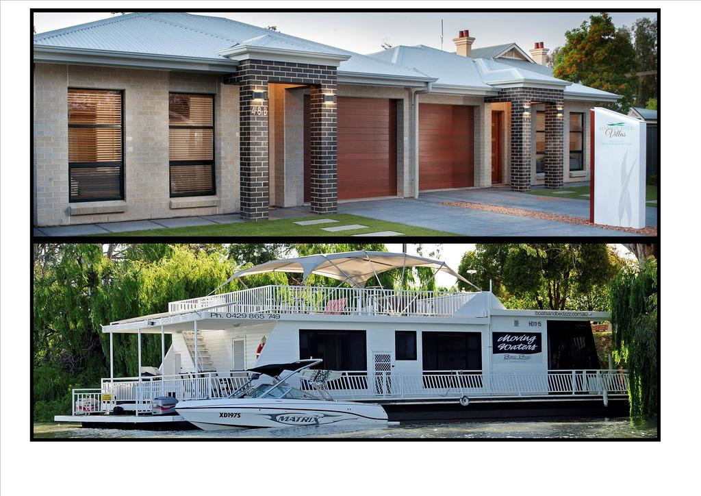 Renmark River Villas and Boats  Bedzzz - Accommodation Rockhampton