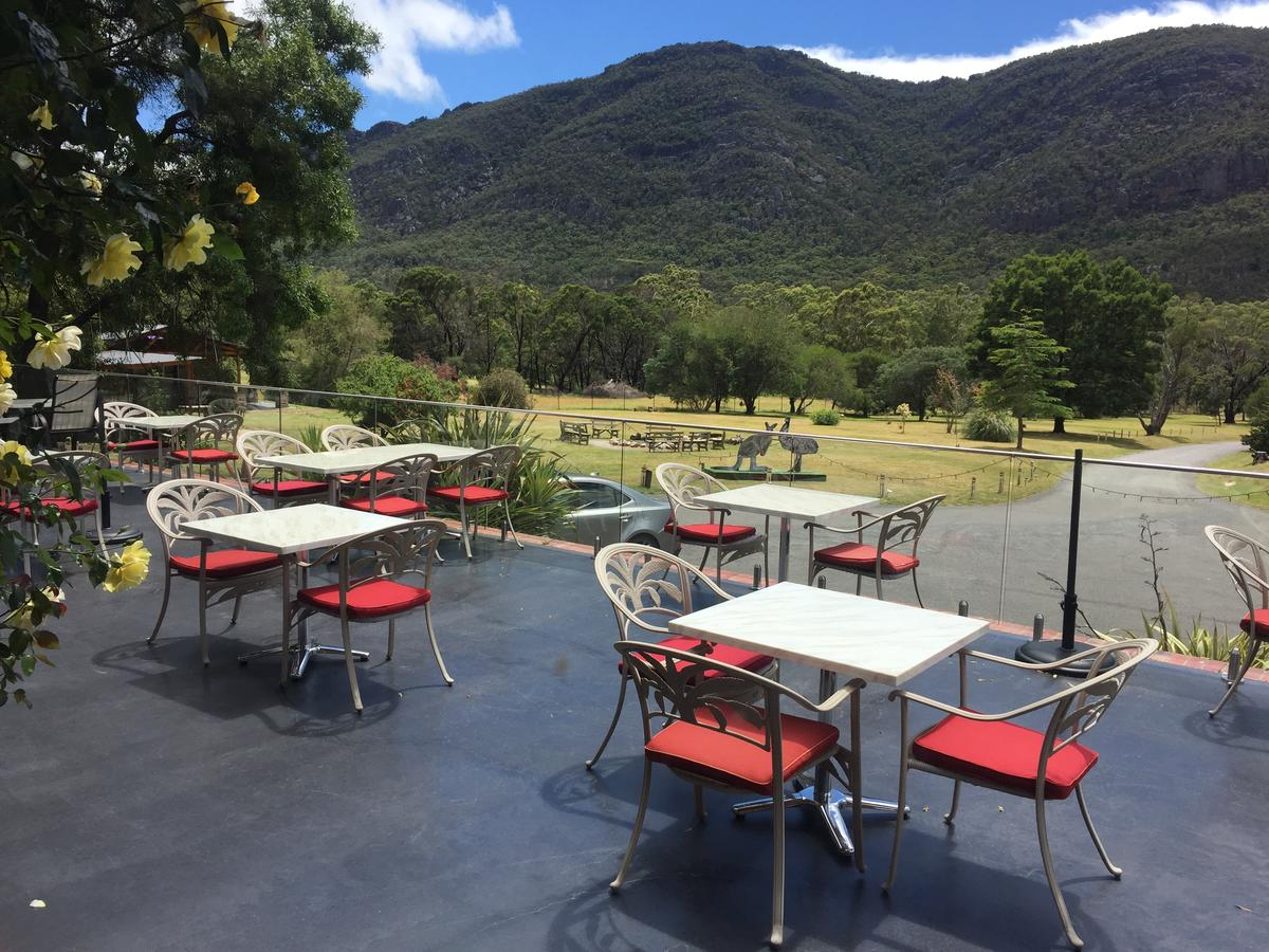 The Grampians Motel and The Views Bar  Restaurant - Accommodation Rockhampton