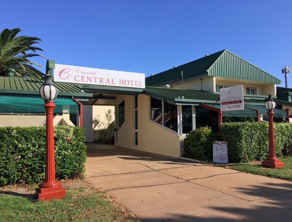 Emerald Central Hotel - Accommodation Rockhampton