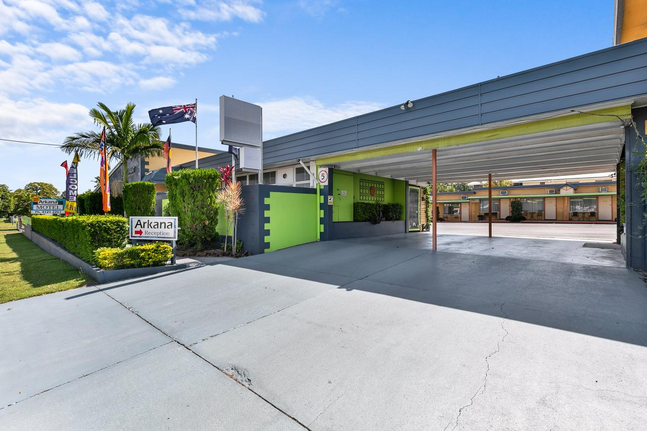 Arkana Motel - Accommodation Rockhampton